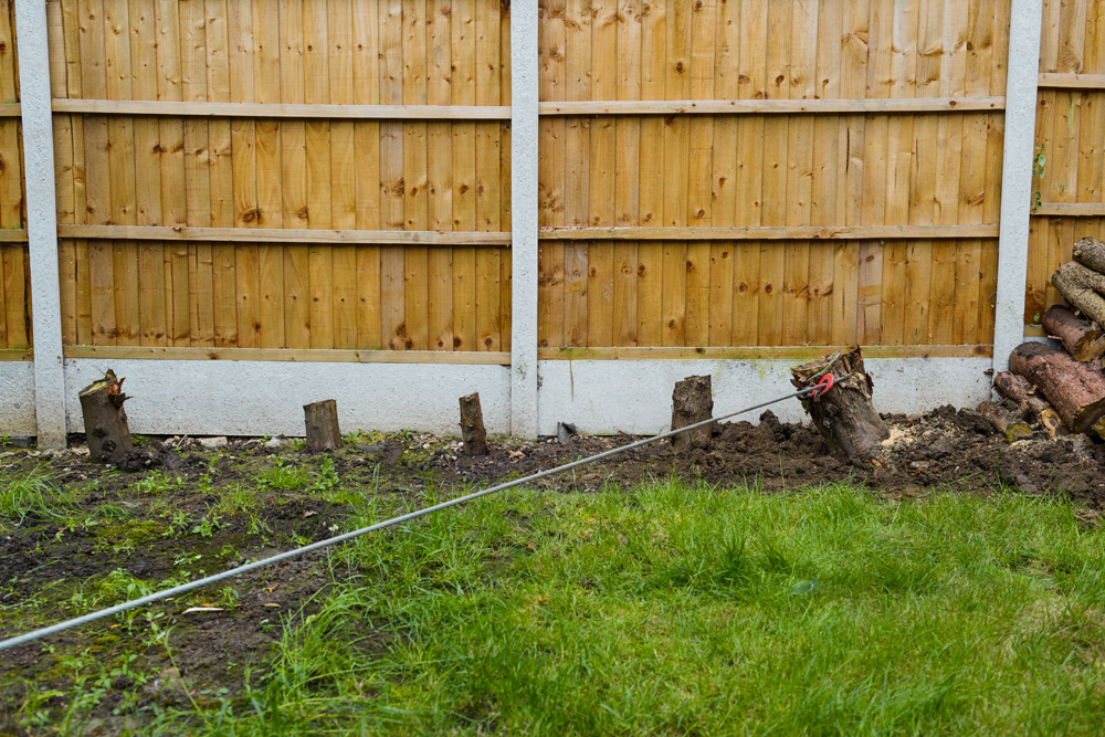 Conifer Stump Removal, Oakwood © Gardenscape 04